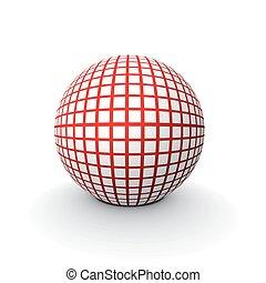 sfera, 3d