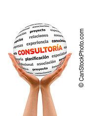 sfera, consulente, parola,  (in,  spanish)