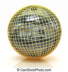 sfera, da, dollaro
