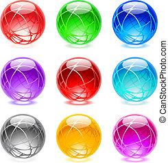 sfere, lucido