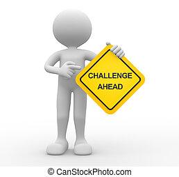 sfida, avanti