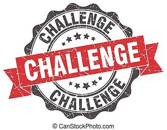 sfida, stamp., segno., sigillo