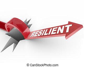 sfida, -, superare, salita, elastico, problema