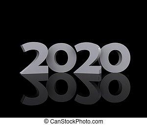 sfondo, 2020, nero