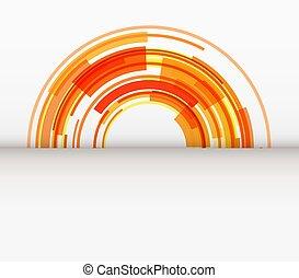 sfondo arancia, astratto