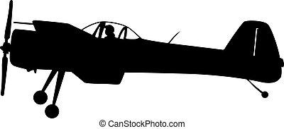 sfondo bianco, aerobatic, acrobazie aeree, compie, aereo