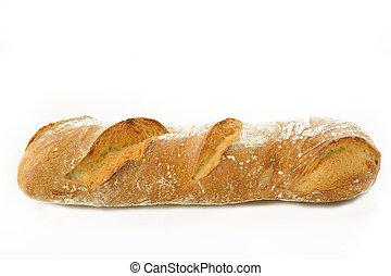 sfondo bianco, bread
