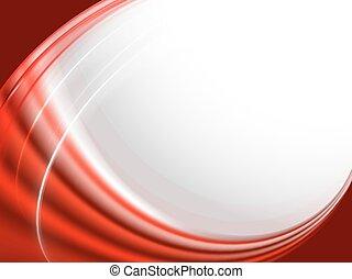 sfondo bianco, striscia rossa