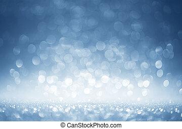 sfondo blu, brillio