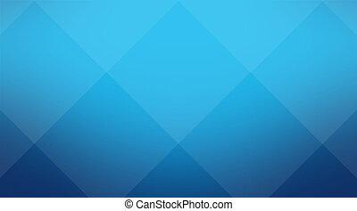 sfondo blu, cubico