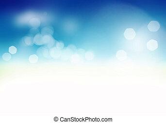sfondo blu, morbido, astratto