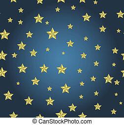 sfondo blu, oro, stelle
