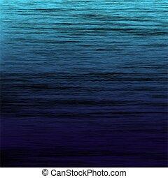 sfondo blu, simulation., superficie, vettore, mare, backfround