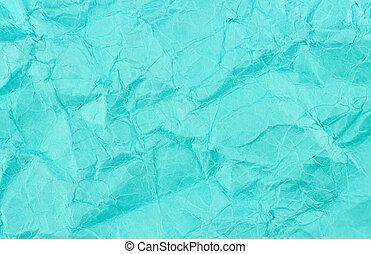 sfondo blu, struttura, riciclato, carta, sbriciolato, ...