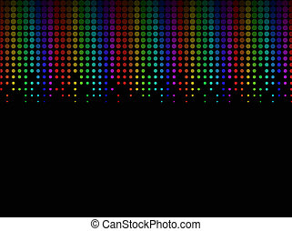 sfondo colorato, halftone