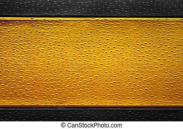 sfondo dorato, struttura, pelle