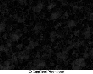 sfondo nero, cubico