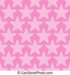 sfondo rosa, seamless, stelle