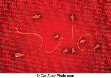 sfondo rosso, struttura, vendita