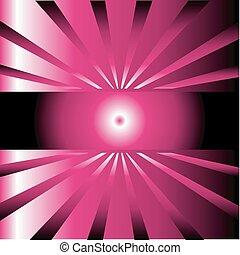 sfondo scuro, rosa, scoppio