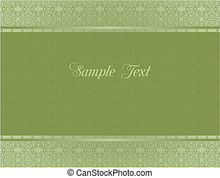 sfondo verde, per, disegno, di, cartelle, e, invito