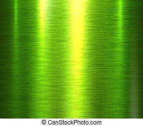sfondo verde, struttura, metallo