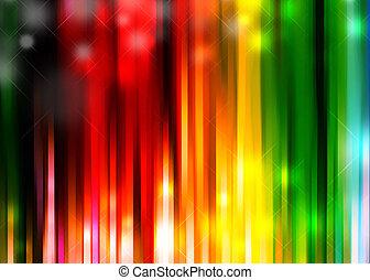 sgargiante, sfondo colorato