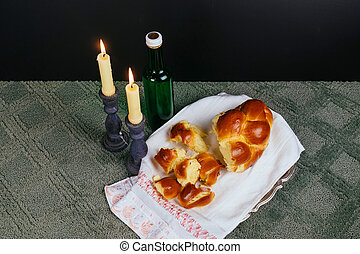Shabbat Shalom - Traditional Jewish Sabbath ritual