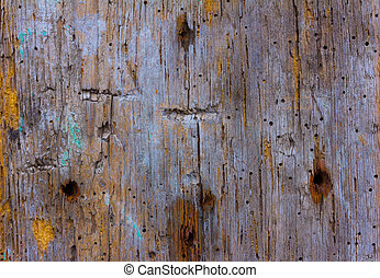 shabby background of the old wooden planks