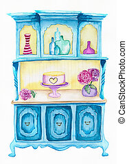 Shabby Chic Illustration