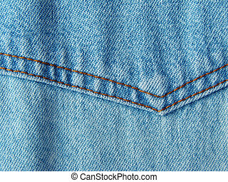 denim - shabby denim clothes fragment with stitch...