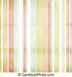 Shabby pastel striped background