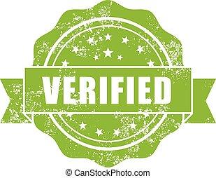Shabby stamp Verified