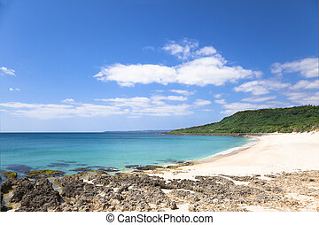 shadao beach in the kenting national park . taiwan