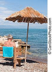 Shade at the beach