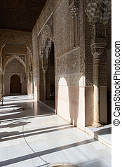 Shades in Alhambra