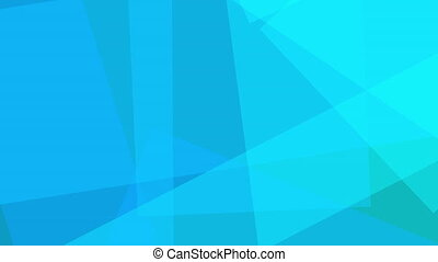 Shades of blue angular loopable background