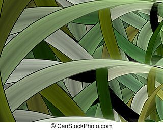 Shades of Grass - A fractal representation of blades of ...