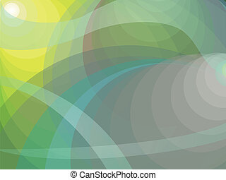 Shades of yellow green background - Dynamic abstract...
