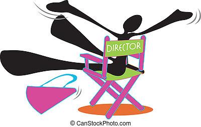 Shadow man director be happy