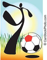 shadow man soccer