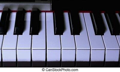 Shadow Movement on Piano