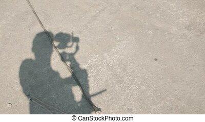 Shadow Of Cameraman Film Set - Shadow of cameraman film set ...