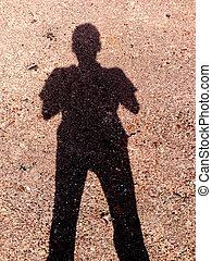 Shadow people.
