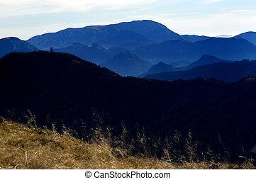 Shadows of mountains no.3