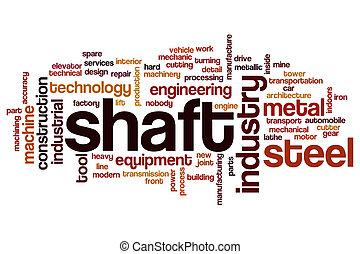 Shaft word cloud