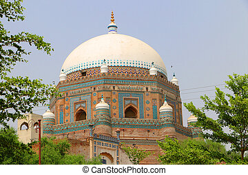Shah Rukn-e-Alam Multan Landmark - Tomb of Shah Rukn-e-Alam ...