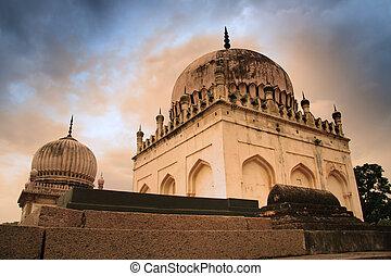shahi, 墓, qutb, 歴史的