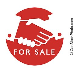 Shake a hand : Transaction for sale