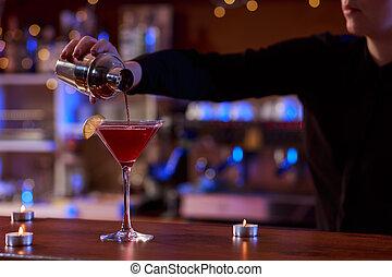shaker,  Bartender, coquetel